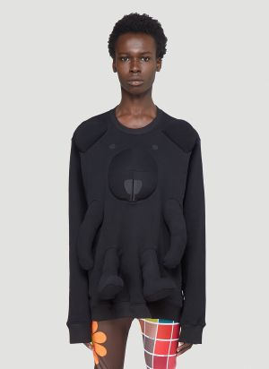 Walter Van Beirendonck Bear Sweatshirt in Black