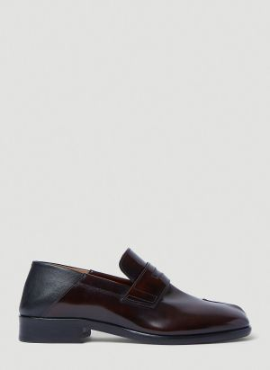 Maison Margiela Tabi Loafers in Brown