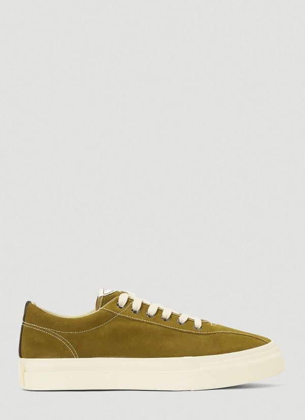 S.W.C Dellow Suede CFWD Sneakers in Green
