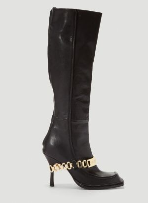 Section 8 Paula Heeled Boots in Black