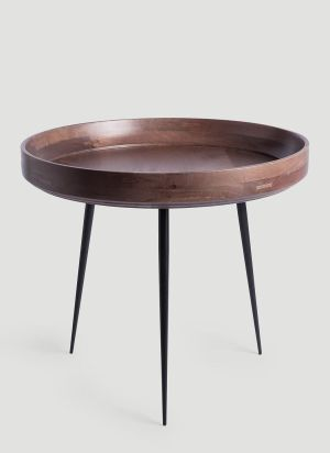 Mater Large Bowl Table in Brown