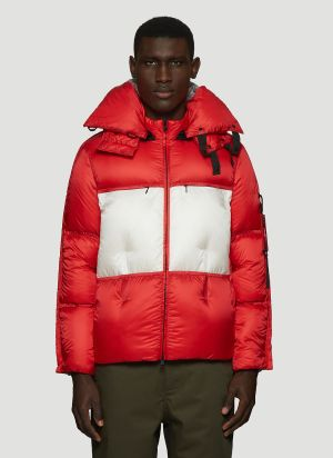 5 Moncler Craig Green Coolidge Puffer Jacket in Red