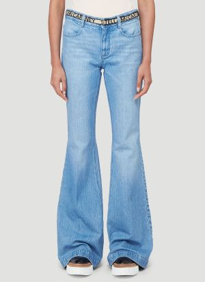 Stella McCartney Flared Jeans in Blue