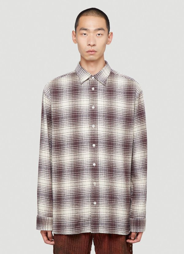 Raf Simons The Others Shirt in Brown