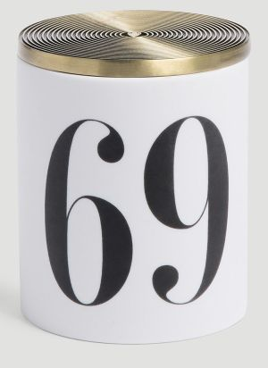 L'Objet Oh Mon Dieu! No.69 Candle in White