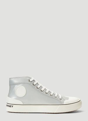 Stella McCartney High-Top Sneakers in Silver