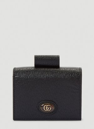 Gucci Porte-Rouges Chain Wallet in Black