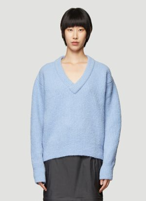 Our Legacy Chunky Knit Sweater in Blue