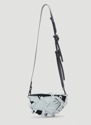 Innerraum Panelled Crossbody Bag in Grey