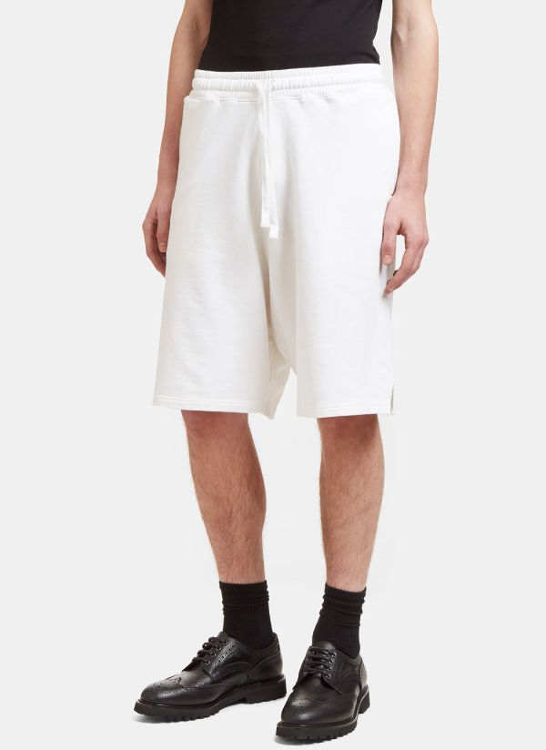 Aiezen Oversized Bermuda Shorts in White