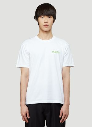 Eden Power Corp Recycled Ocean T-Shirt in White