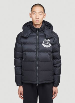 2 Moncler 1952 Arensky Undefeated Down Jacket in Black