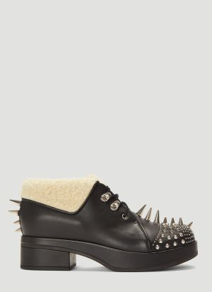 Gucci Embellished Victor Boots in Black