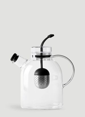 Menu Large Kettle Teapot in Clear