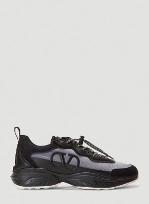 Valentino Shegoes Sneakers in Black
