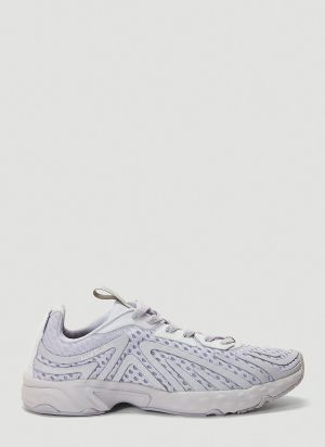 Acne Studios Buzz Mesh Sneakers in Purple