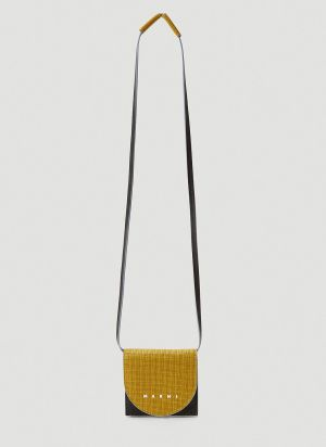 Marni Mini Crossbody Bag in Yellow