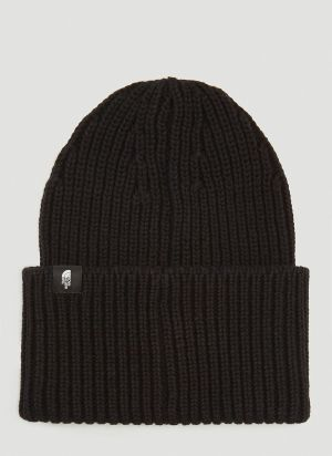 The North Face Black Series Knitted Beanie Hat in Black
