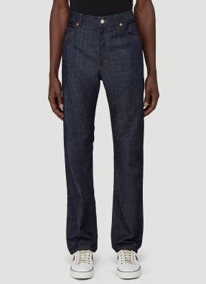 Gucci Straight-Leg Jeans in Blue