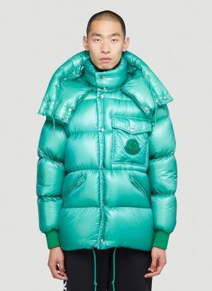 Moncler Lamentin Down Jacket in Green