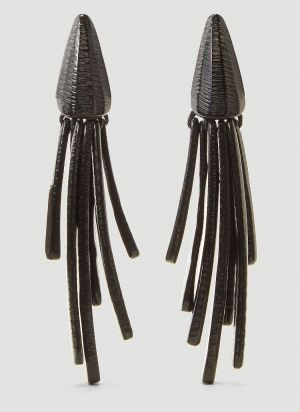 Monies Susannah Earrings in Black