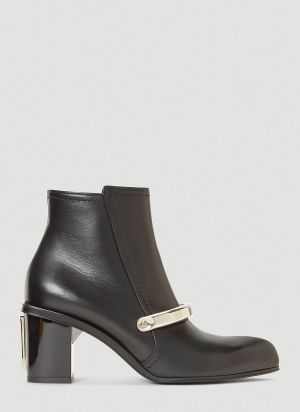 Alexander McQueen Peak Ankle Boots in Black