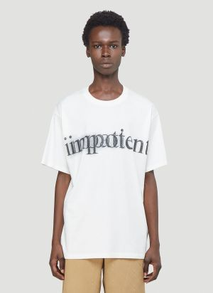 Gucci Impotent Important T-Shirt in White