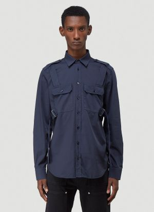 Helmut Lang Parachute Shirt in Black