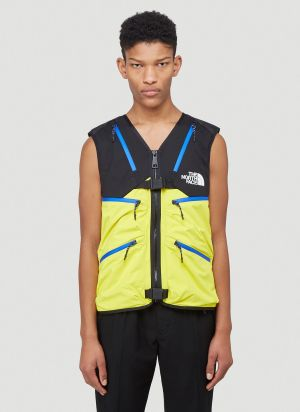 The North Face Black Series Vest Jacket in Yellow