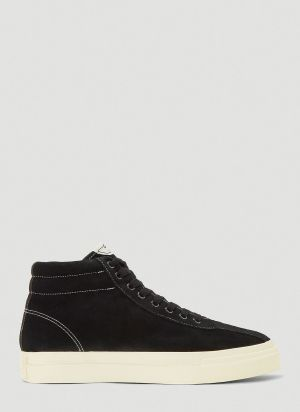 S.W.C Varden Suede Sneakers in Black