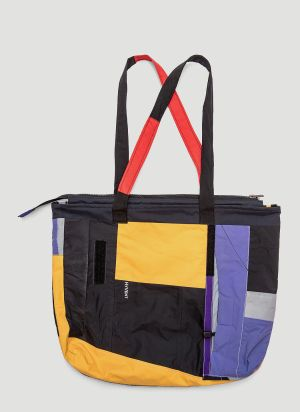 Greater Goods Upcycled Tote Bag in Yellow