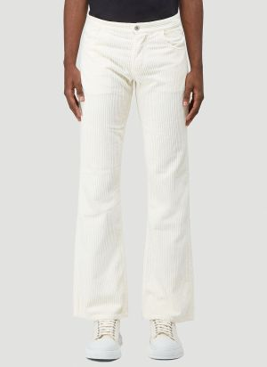 ERL Corduroy Pants in White