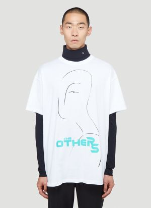 Raf Simons Oversized The Others T-Shirt in White