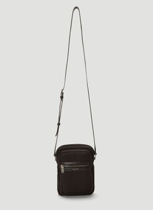 Saint Laurent Sid Pouch Crossbody in Black
