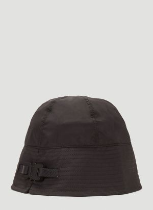 1017 ALYX 9SM Narrow Bucket Hat in Black