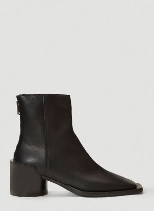 MM6 Maison Margiela Show Boots in Black