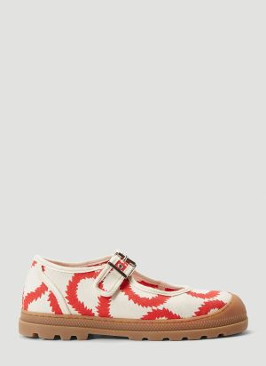 Vivienne Westwood Squiggle Shoes in Beige