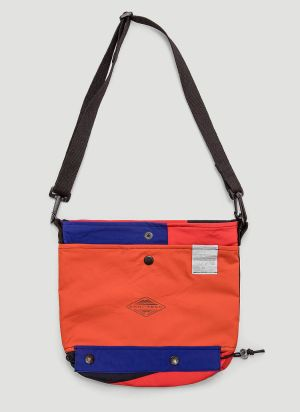 Greater Goods Upcycled Crossbody Bag in Orange