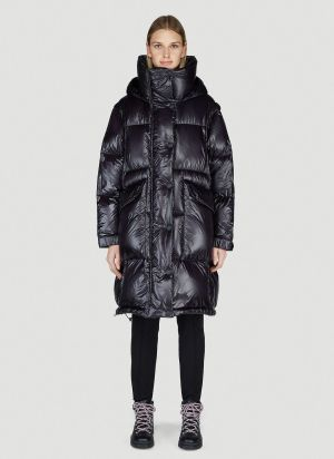 Moncler Grenoble Entreves Down Coat in Black