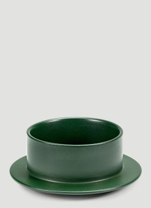 Valerie objects Dishes to Dishes Medium Bowl in Green