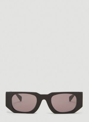 Kuboraum Mask U8 Geometric Sunglasses in Black
