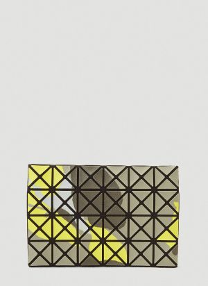 Bao Bao Issey Miyake Oyster Card Holder in Yellow
