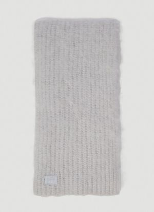 Eytys Bale Textured Scarf in Grey