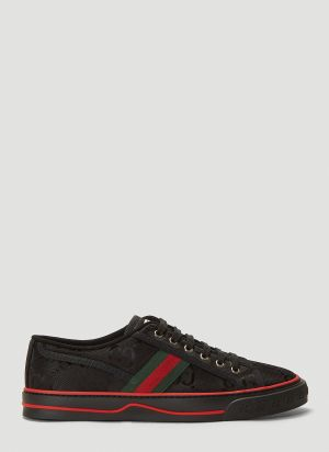 Gucci Eco-Nylon Tennis 1977 Sneakers in Black