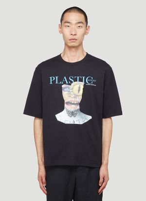 Youths In Balaclava Plastic Surgery T-Shirt in Black