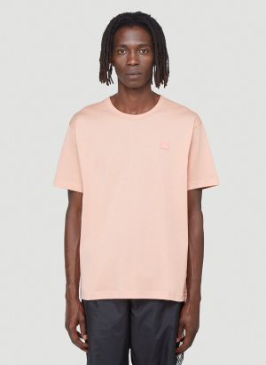 Acne Studios Face T-shirt in Pink