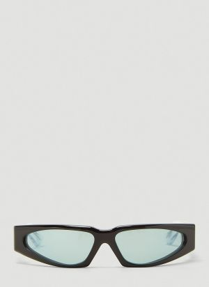 Jacques Marie Mage Ray Sunglasses in Black