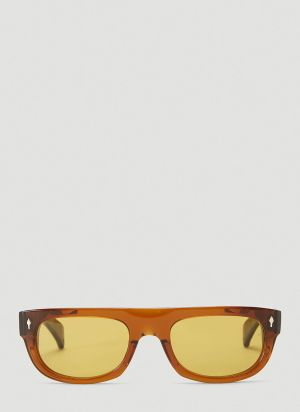 Jacques Marie Mage X Velvet Underground Sunglasses in Brown