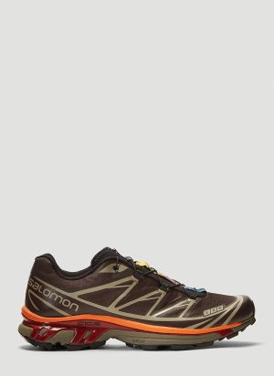 Salomon XT-6 ADV Sneakers in Brown