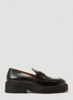 Marni Penny Loafers in Black
